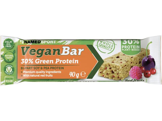 NAMEDSPORT Vegan Protein Repen Box 24x40g, Red Fruit